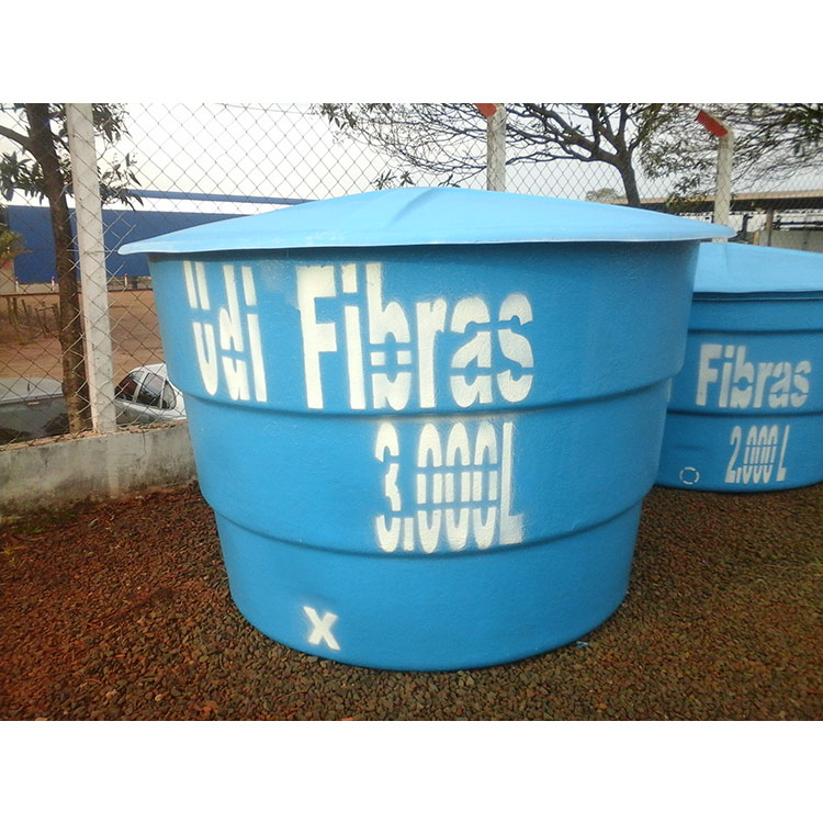 Caixa d'água 3.000 litros