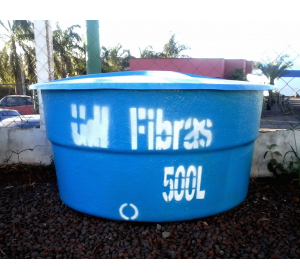 Caixa d'água 500 litros
