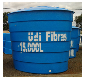 Caixa d'água 15.000 litros