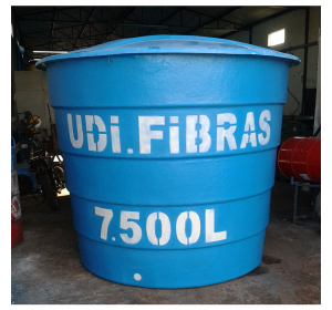 Caixa d'água 7.500 litros