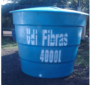 Caixa d'água 4.000 litros