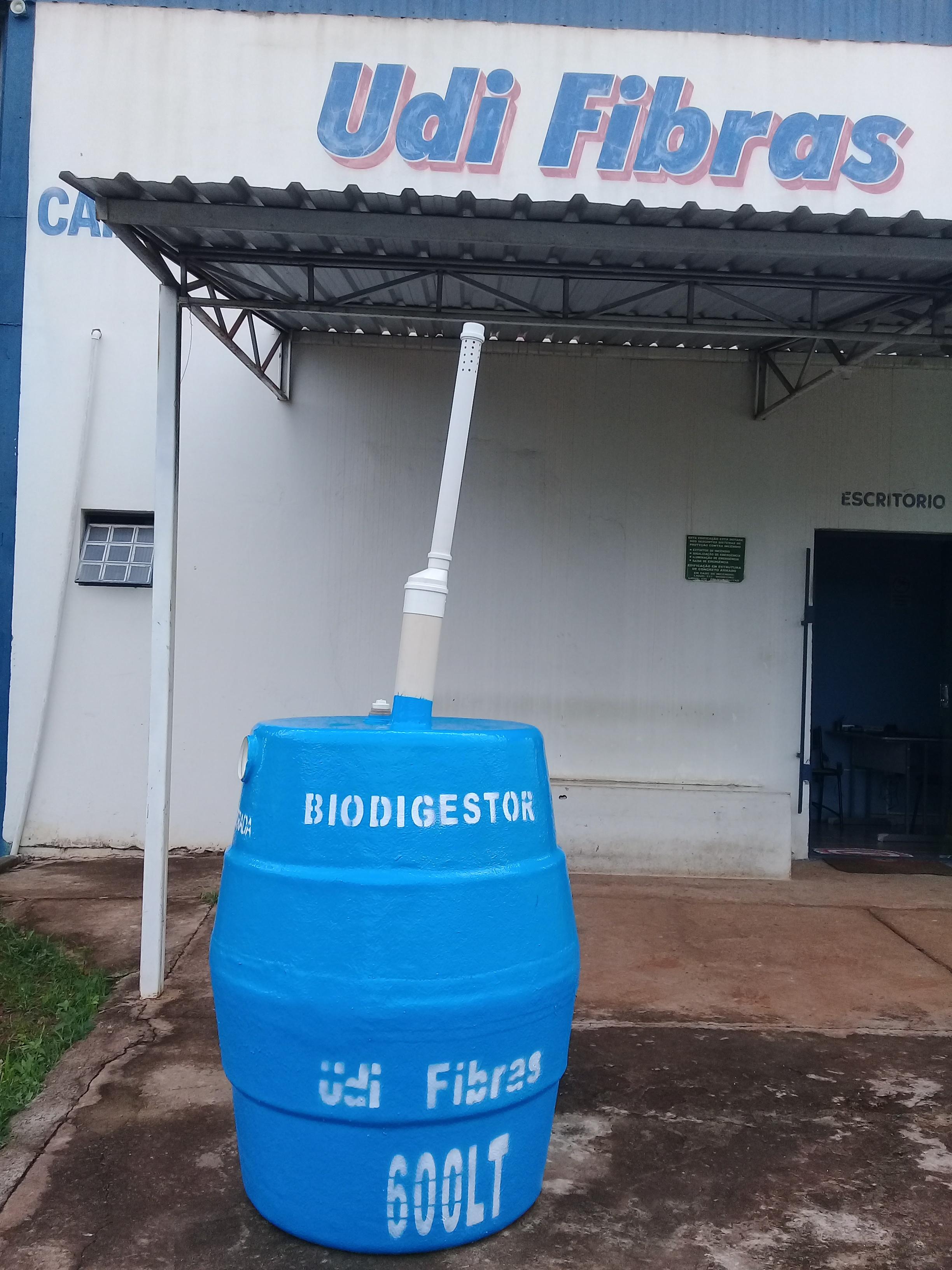 Bio Digestor de 600 litros